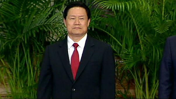 China arrests ex-security chief in corruption probe