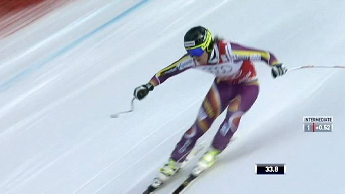 التزلج الألبي فوز ثالث على التوالي ليانسرود