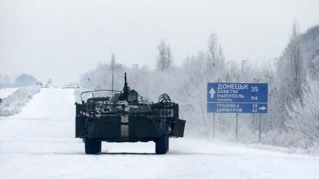 Ucrânia em penúria de energia para o inverno