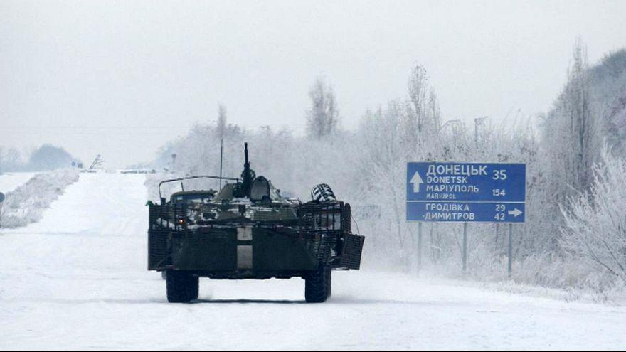 Ukrainer sitzen wegen Kohlemangel im Dunkeln