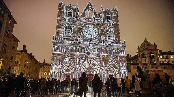 Lichterfest lässt Lyon erstrahlen