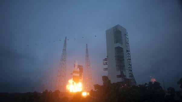 "NASA: запуск корабля ""Орион"""