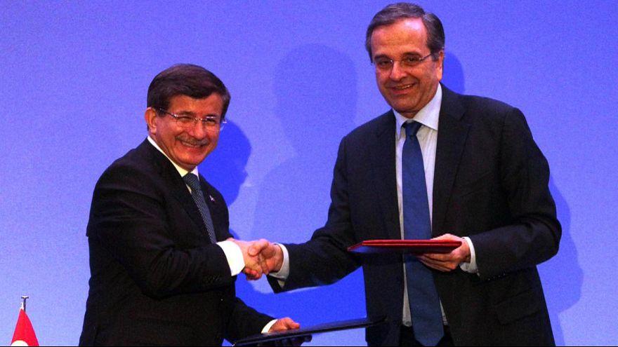 Grecia y Turquía mantienen sus diferencias pero prometen seguir trabajando para solventarlas
