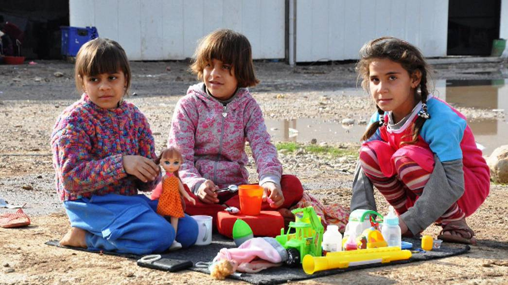 Euronews visits Christian and Yazidi refugees who fled ISIL militants