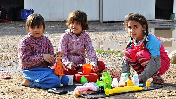گزارش یورونیوز از اردوگاه آوارگان مسیحی در اربیل