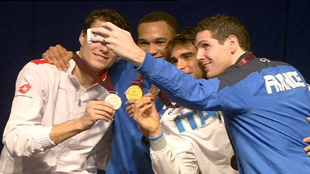Gold in Doha for French fencer