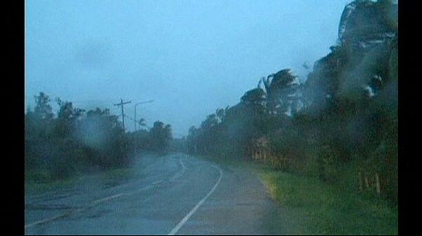 Tufão Hagupit chegou às Filipinas