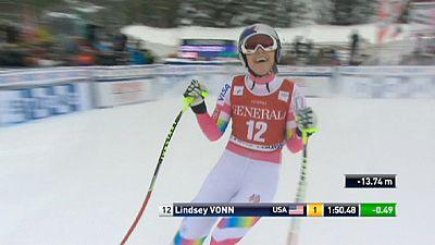 Sci alpino, CdM: torna al successo Lindsey Vonn