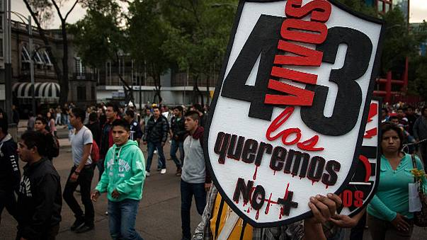 Renewed protests in Mexico as remains of one of missing students identified