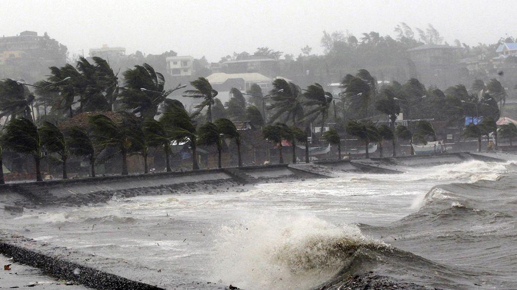 Tufão Hagupit: confirmados dois mortos nas Filipinas