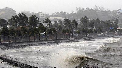Philippines : le typhon Hagupit frappe l'est de l'archipel
