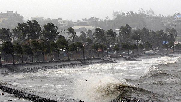 Nagy pusztítást végzett a tájfun a Fülöp-szigeteken