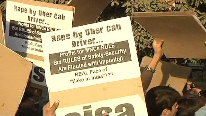 India Uber taxi driver arrested after rape allegation