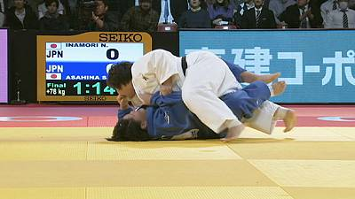 Judo Grand Slam Tokyo: Final golds of 2014