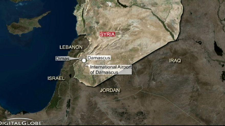 Szíriai célpontokat bombázott Izrael