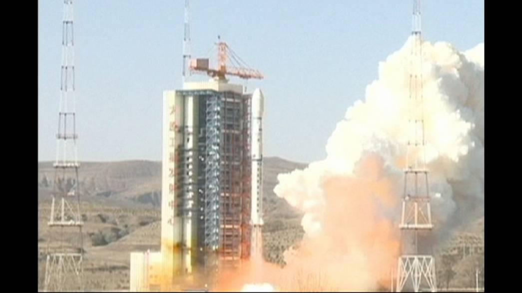 China and Brazil launch jointly developed rocket