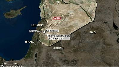Syria says Israel warplanes strike targets near Damascus in 'flagrant attack'