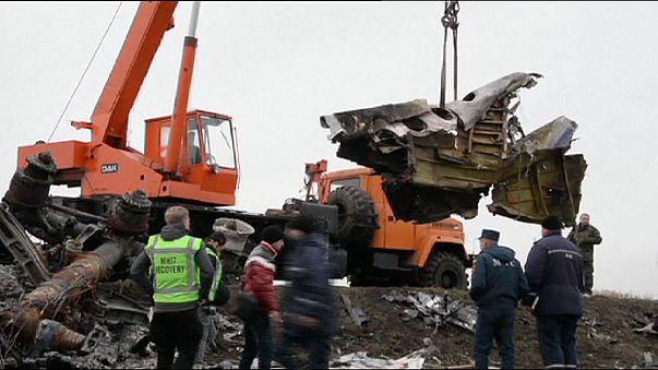 Фрагменты сбитого малайзийского самолета везут в Дрезден