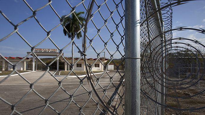 Six former Guantanamo inmates arrive in Uruguay