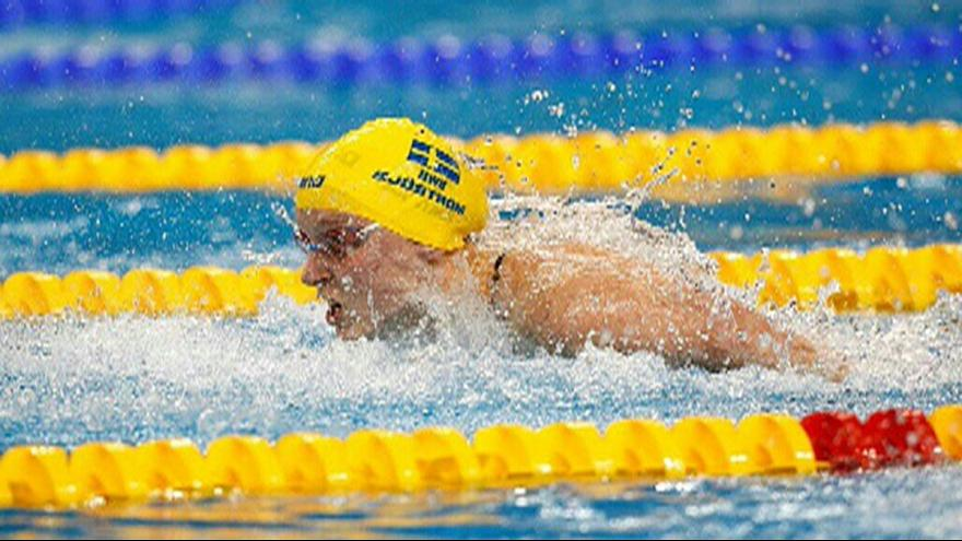 Sjoestroem and LeClos wrap up final day of FINA Worlds