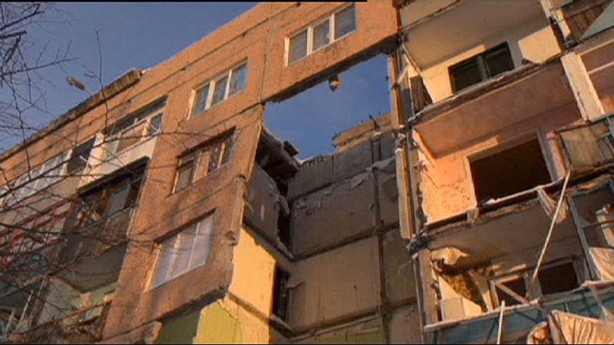 Ukrayna'nın Pervomaysk kenti ateş altında