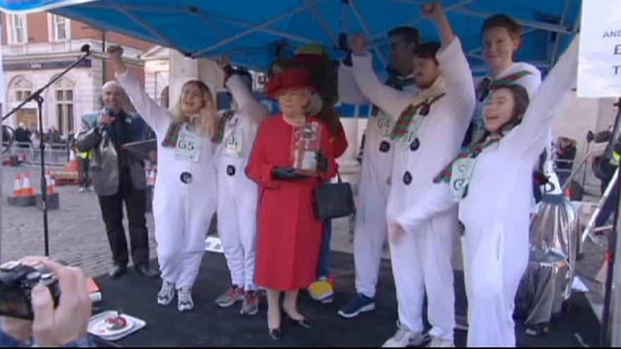 Great Christmas Pudding Race raises money for Cancer Research