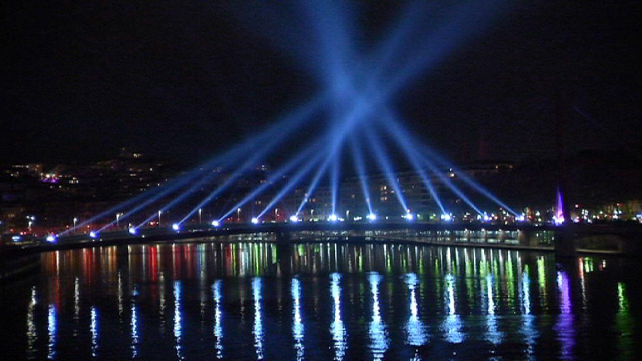 """Ein Meer aus Lichtern: """"Fête des Lumières"""" in Lyon"""