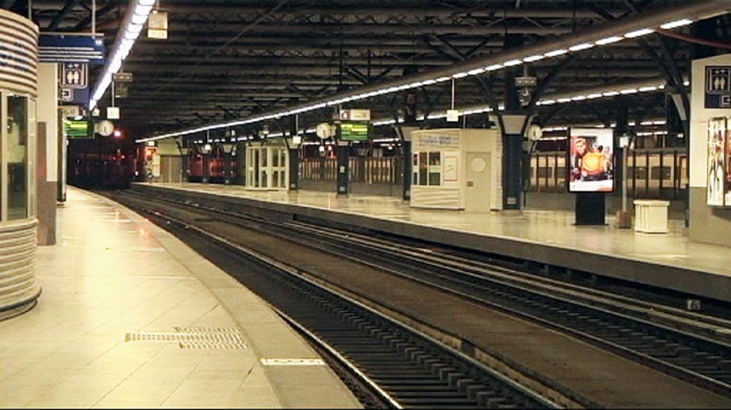 Bruxelles paralysée par la grève régionale