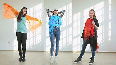 Jovens com marcas registadas no espaço europeu