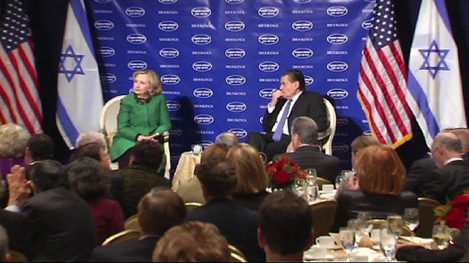 Джон Керри и Хилари Клинтон о палестино-израильском конфликте