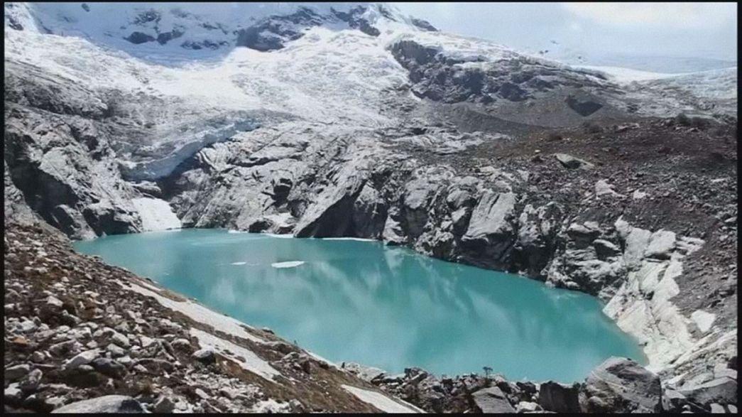 Μεγάλη μείωση των παγετώνων στο Περού, λόγω κλιματικής αλλαγής