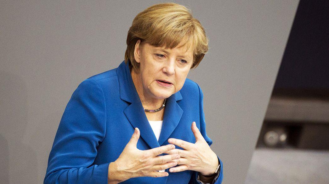 Újra Merkel a német konzervatívok vezetője