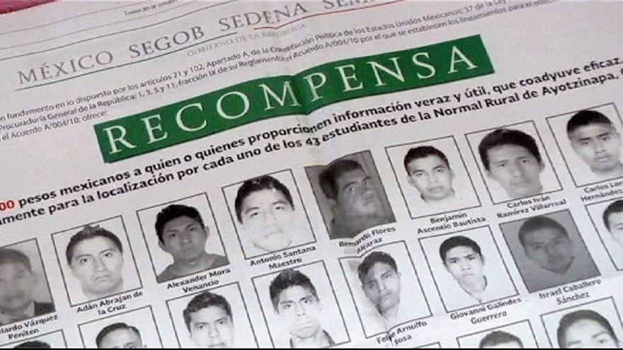 الدولة المكسيكية ترغب بالاعتماد على مساعدة اوروبية للتحقيق في قضية اختفاء طلابها الثلاثة و الاربعين.