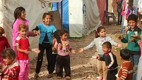 Se busca un nuevo hogar para 160.000 refugiados sirios