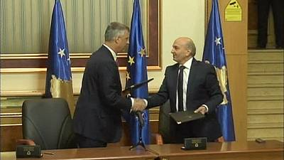 Accordo di governo in Kosovo: Isa Mustafa primo ministro e Thaci agli esteri