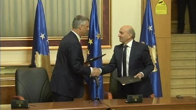 Coalition deal ends stalemate in Kosovo