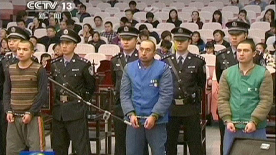 Çin'de kanlı saldırıların sanıklarına idam cezası