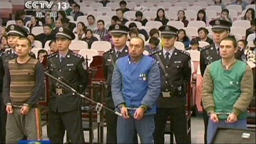 مجازات اعدام برای هشت چینی متهم به دست داشتن حملات مرگبار