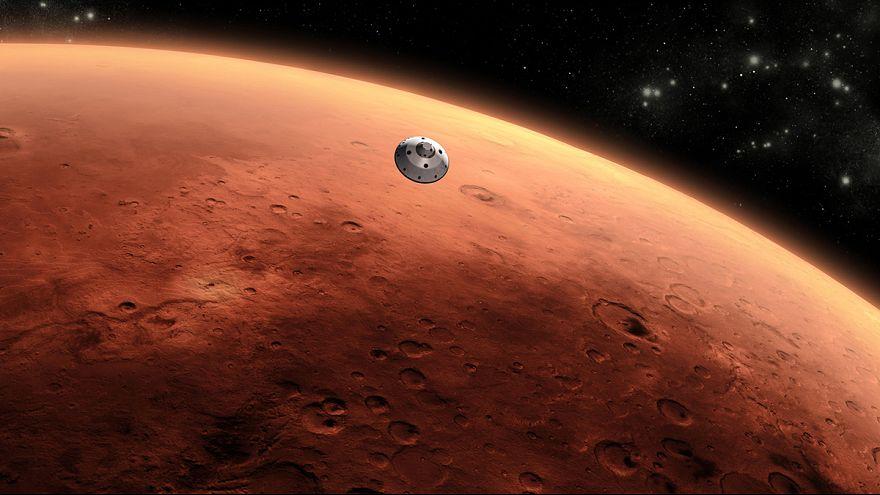 Le lac de Mars