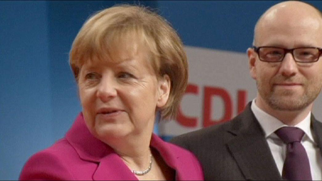 Germania : Merkel leader della CDU per l'ottava volta