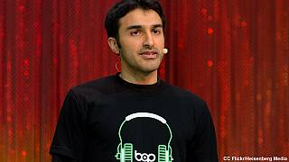LeWeb 2014: hanging out with bop.fm CEO Shehzad Daredia