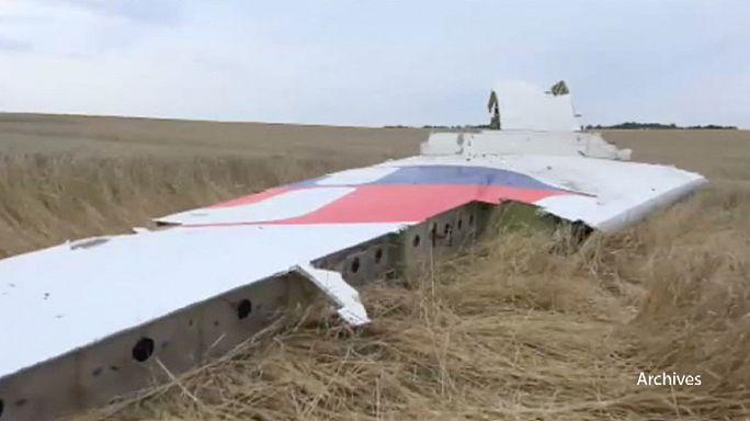 Les débris du vol MH17 aux Pays-Bas pour analyse