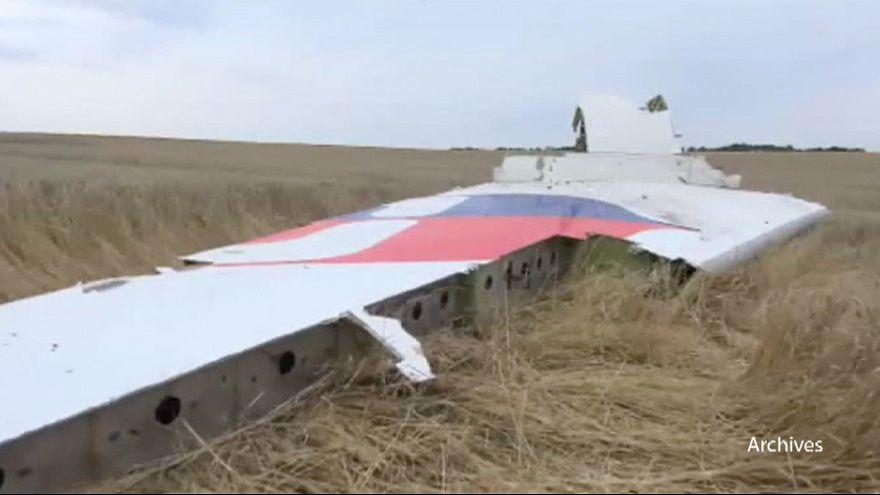 Llegan a Holanda los primeros restos del avión derribado en Ucrania