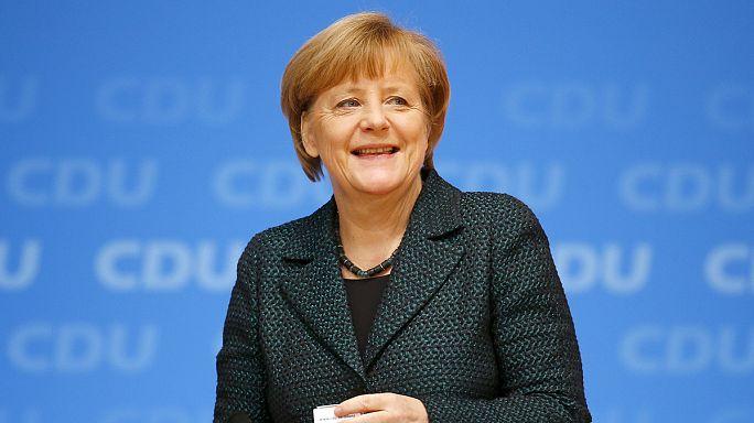 Almanya Başbakanı Merkel yeniden CDU'nun lideri oldu