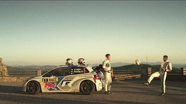 Neymars Ausflug in die Rallyewelt