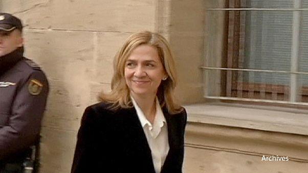 Un fiscal exculpa a la hermana del rey de España en un caso de corrupción