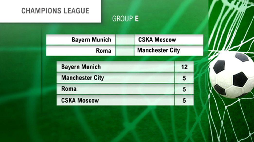 Champions League: Roma ultima chiamata contro il Manchester City