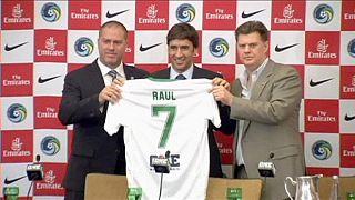 Raúl regressa ao futebol para vestir camisola do Cosmos