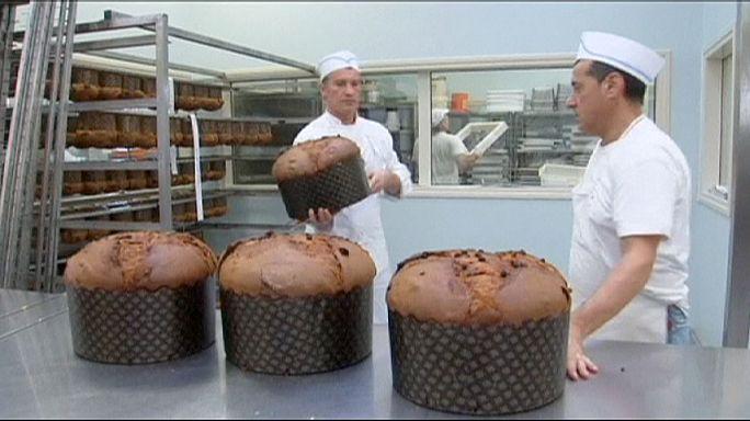 Yılbaşı pastaları mahkumlardan