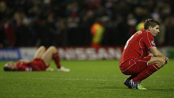 Liverpool off to Europa league after Champions League exit
